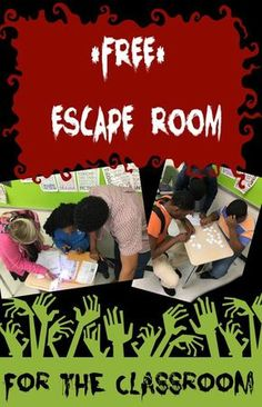 Classroom Escape Room - see comment Escape The Classroom, Future Classroom, School Classroom, Kids Escape Room, Classroom Ideas, Fun Classroom Activities, Classroom Behavior, Stem Activities, Writing Activities