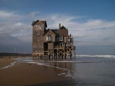 """The famous house """"Serendipity"""" from the movie Nights in Rodanthe"""