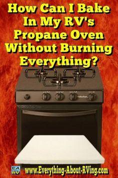 Here's our answer to: How Can I Bake In My RV's Propane Oven Without Burning Everything?