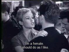 Brigitte said it best.