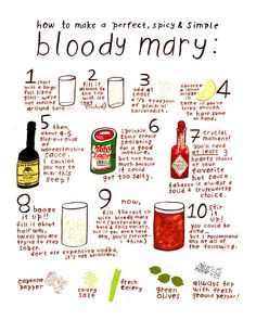 A Bloody Mary guide for your bridal shower or post-wedding brunch