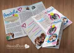 Logo, trifold leaflet and poster design for Children choir and their first auditions. Choir, Flyers, Children, Behance, Studio, Design, Young Children, Greek Chorus, Ruffles