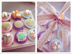Dentist cupcakes set by Cupkeiks, via Flickr