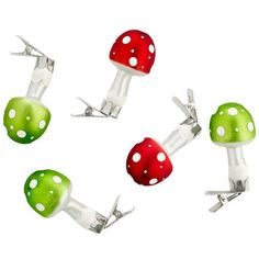 Ditto for German ornaments.  Only these Are cute and whimsical.