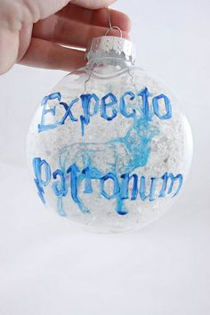 Expecto Patronum Ornament | Flickr - Photo Sharing! @Shannon Bellanca Carlson @Jenn L DeVore