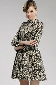 Graceful Rose A-line Dress OASAP.com