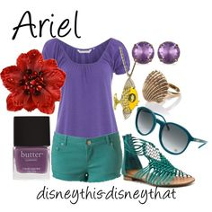 Ariel  Inspired by Polyvore playtime...