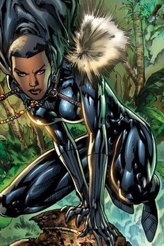 Ready Player One's Letitia Wright is portraying T'Challa's sister for MArvel's upcoming Black Panther movie. Black Panther Marvel, Female Black Panther, Shuri Black Panther, Black Panther Costume, Black Panther Art, Black Anime Characters, Comic Book Characters, Marvel Characters, Marvel Movies