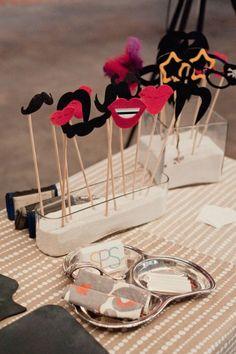 Animations de mariage : Accessoires pour votre Photo Booth.