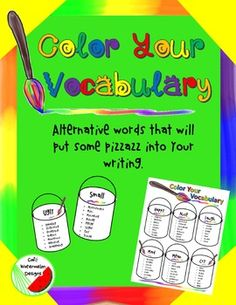 Give your class the tools they need to put some pizzazz into their writing.  Do…