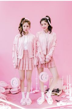 Estherloveschuu Coke Bunny Bomber Jacket | Korean Fashion #chuu