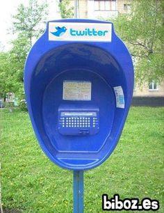 Cabinas para Twitter...