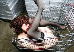 Violence in Fashion: Who Killed Amanda Palmer? (click thru for more)
