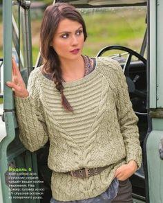 Кофты и пуловеры — Мир вязания и рукоделия