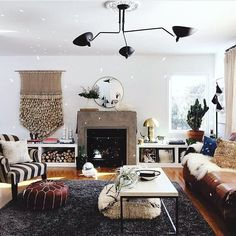 well now I'm convinced I need a disco ball in my life to spread that morning sunshine around!  thanks for sharing on #ckstyleaccordingly @undecorated_home!!! your living room is how we should all be waking upon a Saturday!