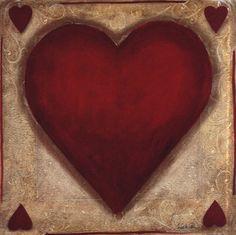 Hearts Art Print  <3