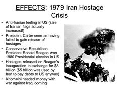 During the Iranian Hostage Crisis President Carter failed to rescue these hostages which lost him re-election and won Ronald Reagan the 1980 presidential Election.