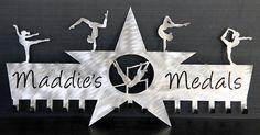 Gymnastics Medals Display: Gymnastics Ribbons Holder: Personalized Medals Holder #gymnastics-medal-hanger #gymnastics-medal-holder #gymnastics-medals-display #medal-display #medal-hanger #medal-hanger-gymnastics #medal-hangers #medal-holder #medal-holder-gymnastics #personalized-gymnastics-medal-display #wrestling-medal-display