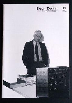 Braun + Design Magazine 21 Dieter Rams Prototypes not produced Otl Aicher ENG/DE