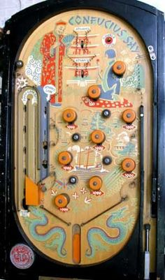 1936 - Rotor Table Games Co - Confucius Say
