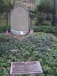 Theodore Roosevelt (October 27, 1858-January 6, 1919) Youngs Memorial Cemetery, Oyster Bay, New York