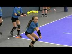 Munciana Peppers Youth Volleyball Training Pt 3 - YouTube