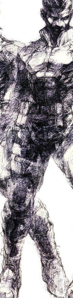 Yoji Shinkawa - Solid Snake