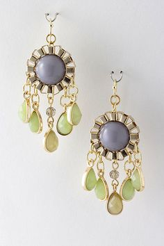Lilac Sienna Dangle Earrings