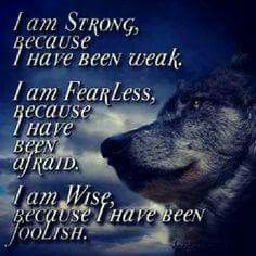Discover and share Wolf Spirit Quotes And Sayings. Explore our collection of motivational and famous quotes by authors you know and love. Wisdom Quotes, True Quotes, Great Quotes, Motivational Quotes, Inspirational Quotes, Lone Wolf Quotes, Wolf Qoutes, Little Buddha, Pomes