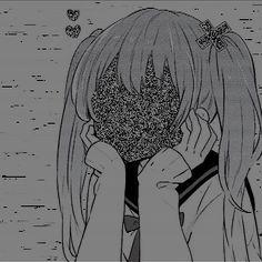 Anime Art Girl, Manga Art, Anime Angel Girl, Dark Anime Girl, Aesthetic Art, Aesthetic Anime, Dessin Old School, Arte Indie, Animes Yandere