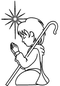 A Large Selection Of Printable Christian Christmas Coloring Pages