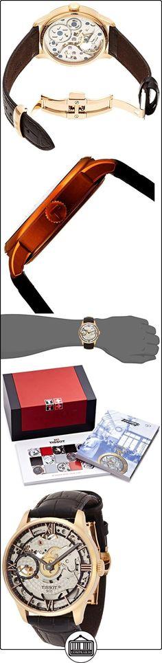 TISSOT CHEMIN DES TOURELLES SQUELETTE RELOJ DE HOMBRE 42MM T099.405.36.418.00  ✿ Relojes para hombre - (Lujo) ✿