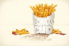 Burger King: great taste Creative Advertising, Food Advertising, Print Advertising, Print Ads, Advertising Campaign, Advertising Archives, Ads Creative, Typography Ads, Creative Typography Design