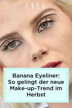 Banana Eyeliner ist der neue Make-up-Trend im Herbst 2021. Auf Elle.de erklären wir, wie man den glamourösen Look einfach schminken kann!