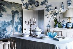 decorating chinoiserie with orchids | Beautiful, inventive ways to decorate your home with flowers and ...