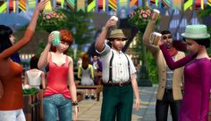 Join Clubs, Go Skinny Dipping In 'The Sims 4' Latest Expansion, 'Get Together' Available Now