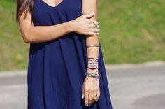 Miriana's World: Blackfive Navy Dress