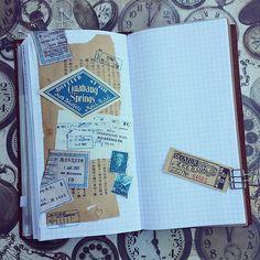 #journaling #journal #journaltime #scrap #scrapping #artjournal #ephemera  #collage #vintage #vintagepaper #vintagestyle #stamps #poststamps #vintagestamps #oldstamps #labels #label #vintagelabel #tickets #oldpaper #travelersnotebook #mtn #tn #travelerscompany