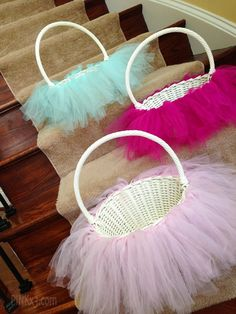 Simple Tutu Easter Basket DIY