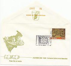 Peru First Day Cover-1986 Chan Chan- Scott 866