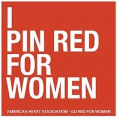 De nummer 1 doodsoorzaak bij Amerikaanse vrouwen is hartfalen. Jaarlijks vallen er meer slachtoffers van hartaanvallen, dan bij kanker. De American Heart Association wou Amerikanen nog eens met hun neus op de feiten drukken en schakelden diverse sociale media in, waaronder ook Pinterest. Met de kleur rood als thema, konden Pinterest-gebruikers alles pinnen en re-pinnen waarin rood centraal staa