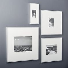 130fbc10306 Gallery brushed silver 8x10 picture frame