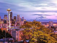 #Seattle is an exciting urban city surrounded by unmatched natural beauty. #Adventure awaits you. It's hard to think of Seattle as anything but #natural, though... #travel