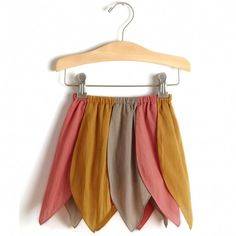 girl's petal skirt from sweetwilliam