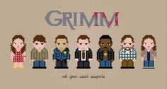 Grimm - PixelPower - Amazing Cross-Stitch Patterns http://www.pixelpowerdesign.com/shop/tv/product/show/417-grimm