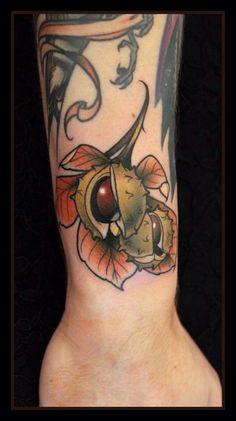 Chestnut tattoo