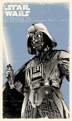 Star Wars - Darth Vader by Daniel Hatcher