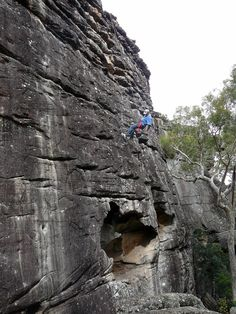 COOL! I will never do this but what a great cache hide to find if you love rock climbing!!! I would fall and that would be a big ass FAIL lol.