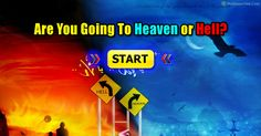14 quick questions to see if your going to heaven, Hell or confused. Your results might surprise you, take the quiz to find out!