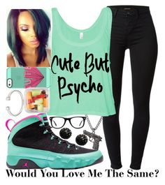 """""""Same--"""" by be-you-tiful-flower ❤ liked on Polyvore featuring Forever 21, NIKE, J Brand, Muse and Kenneth Jay Lane"""